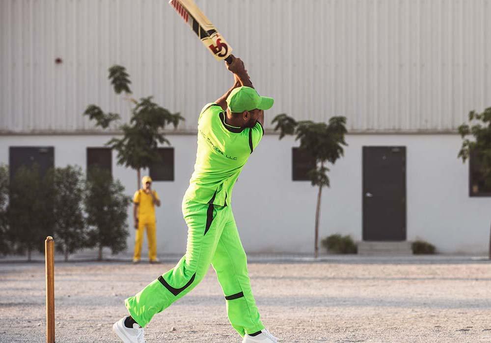 Circular Computing UAE Facilities - Playing Cricket