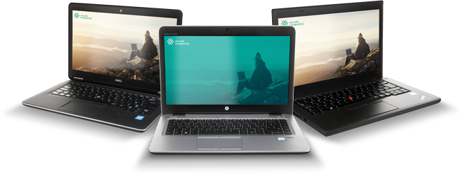 HP, Dell and Lenovo remanufactured laptops