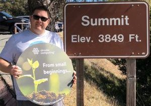 SJ at summit Mount Diablo