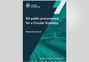 Download our Public Procurement for a Circular Economy paper
