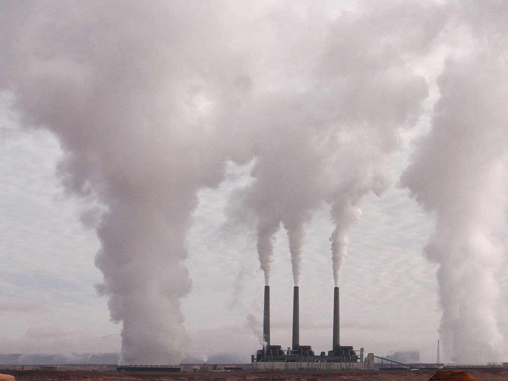 Manufacturing pollution